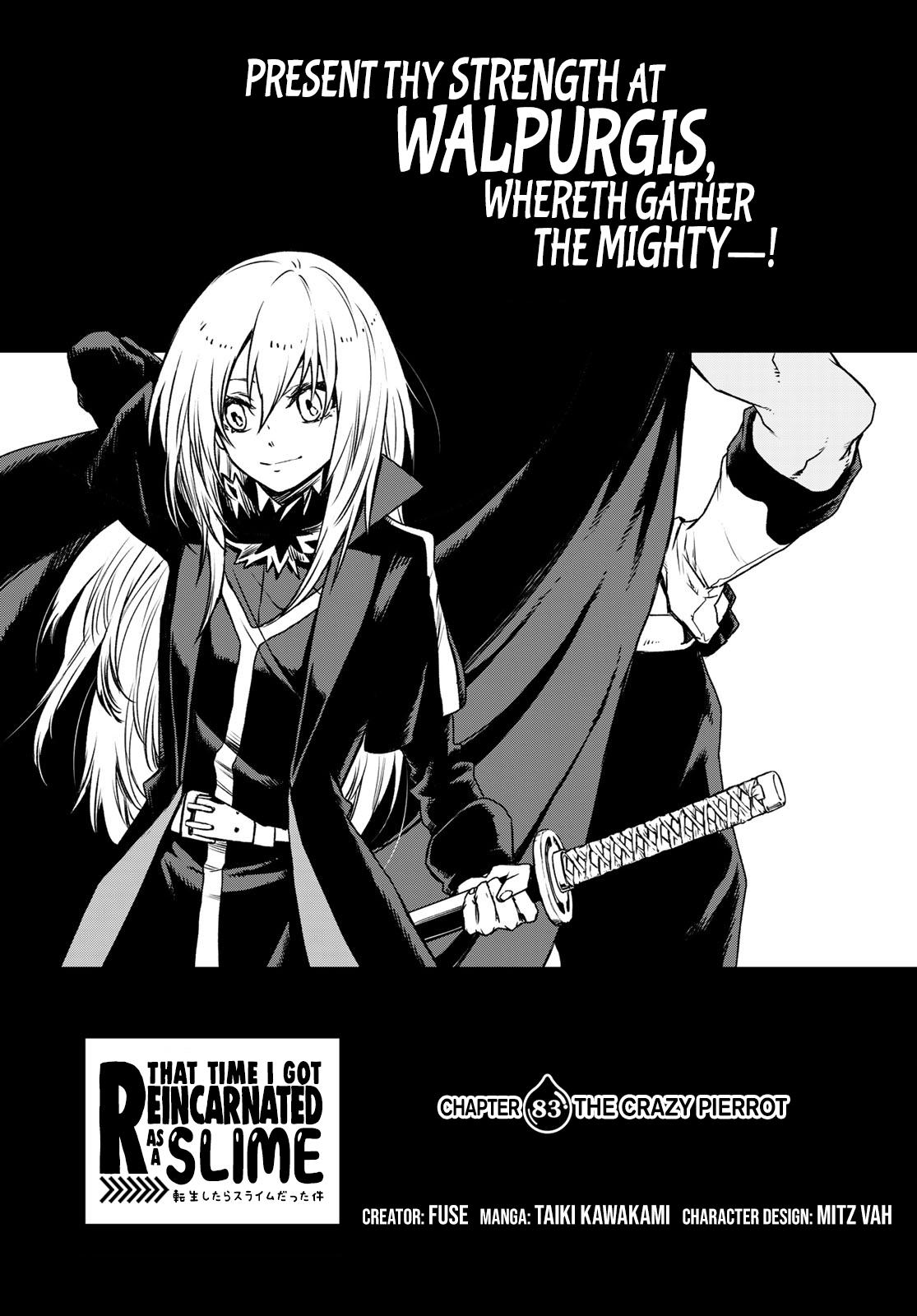 That Time I Got Reincarnated As A Slime, Chapter 83 image 001