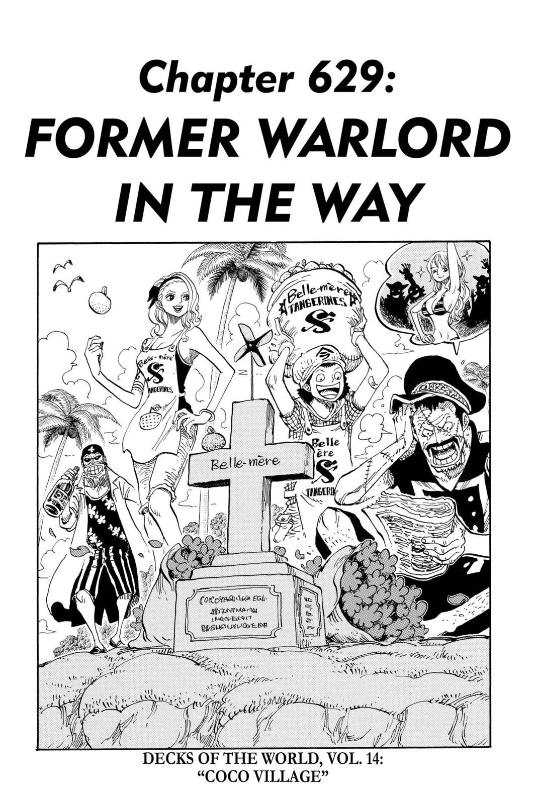 One Piece, Chapter 629 image 001