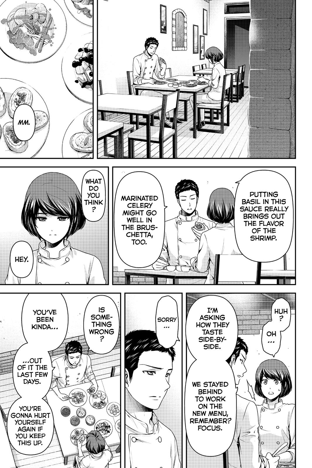 Domestic Na Kanojo, Chapter 189 image 011