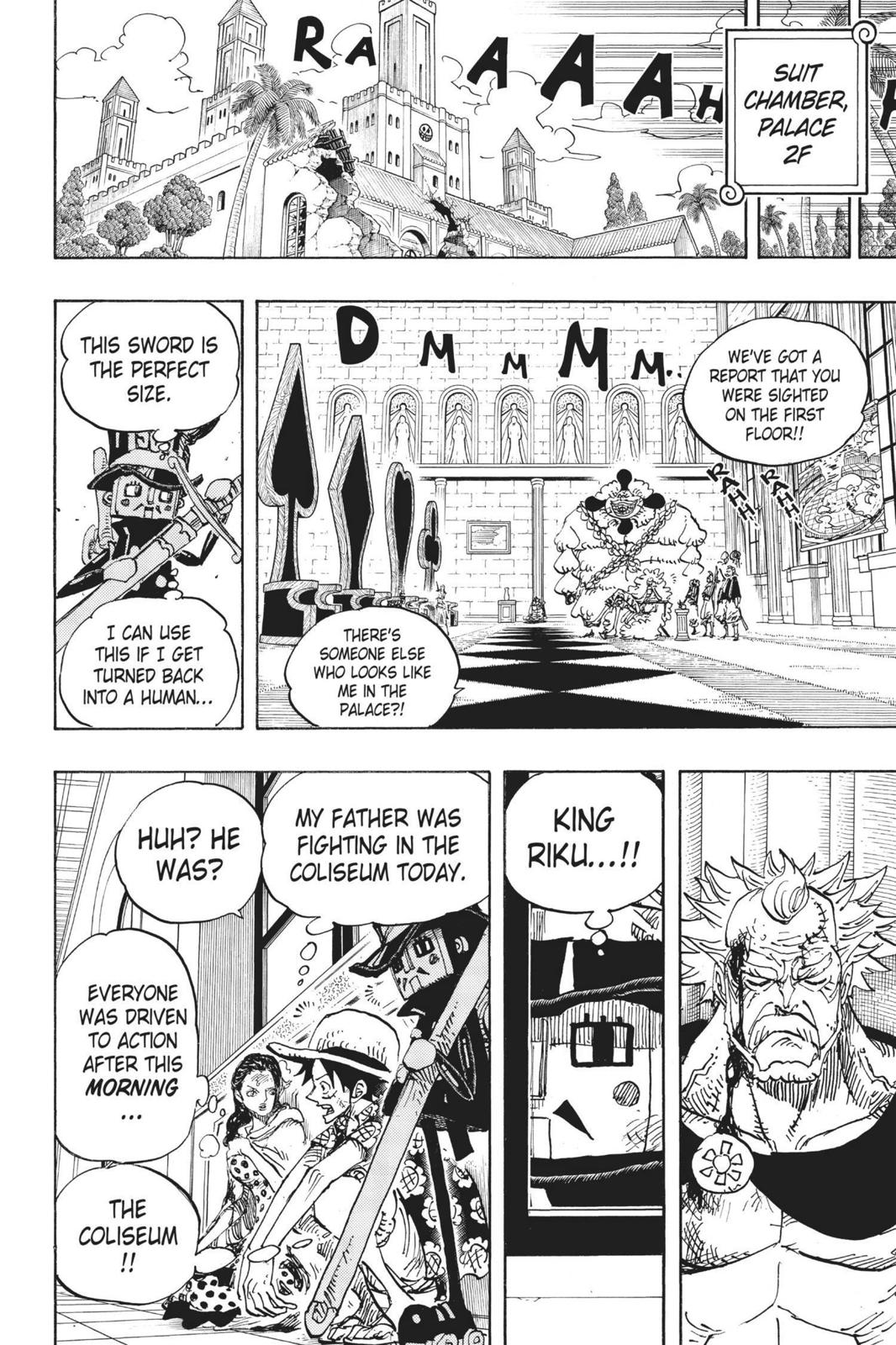One Piece, Chapter 741 image 014