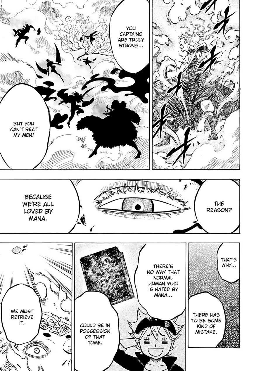 Black Clover, Chapter 52 Those Without Mana image 014