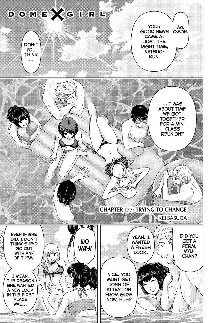 Domestic Girlfriend, Chapter 177 Trying to Change image 001