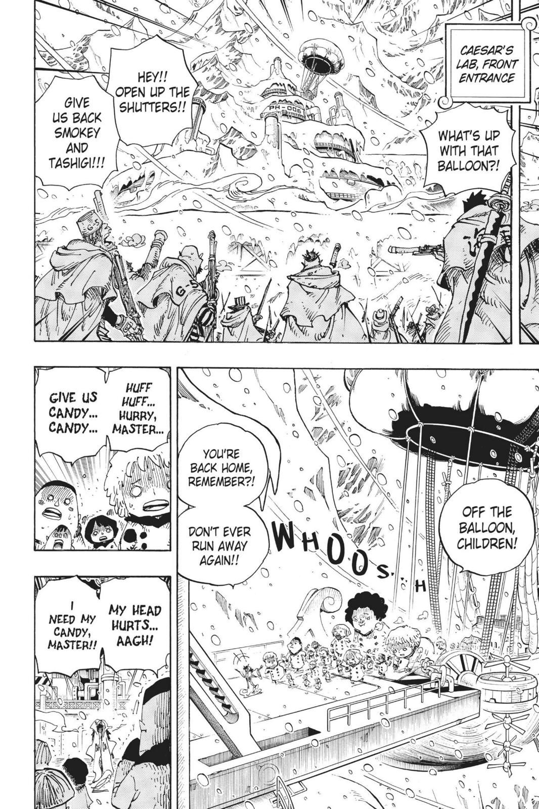 One Piece, Chapter 675 image 002