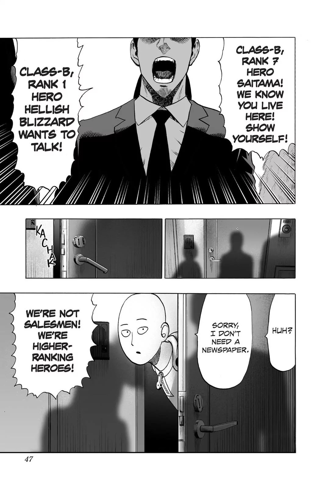 One Punch Man, Chapter Onepunch-Man 42 image 012