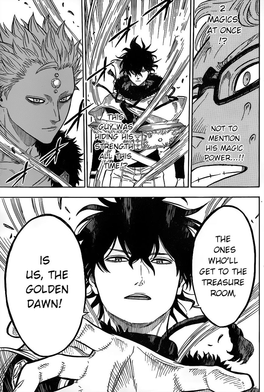 Black Clover, Chapter 15 The Three Of Us image 011