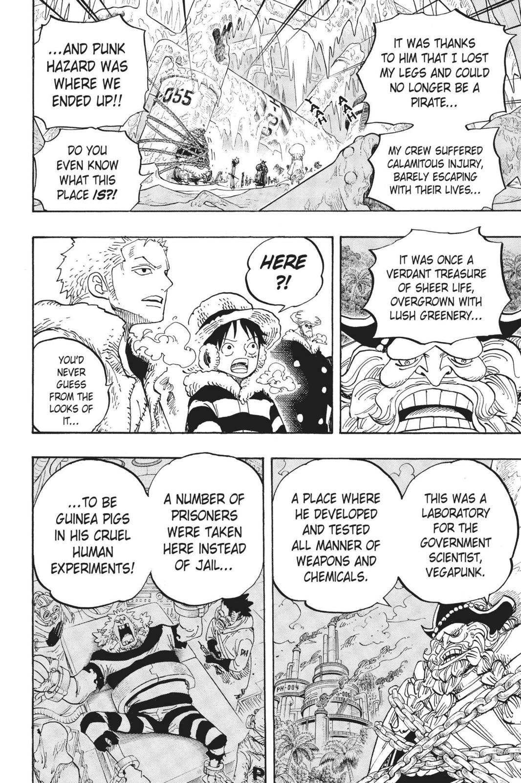 One Piece, Chapter 664 image 012