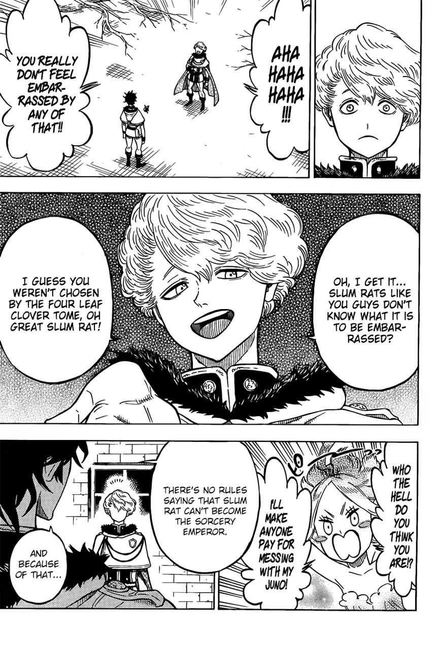 Black Clover, Chapter 79 The Depths of The Mask image 016