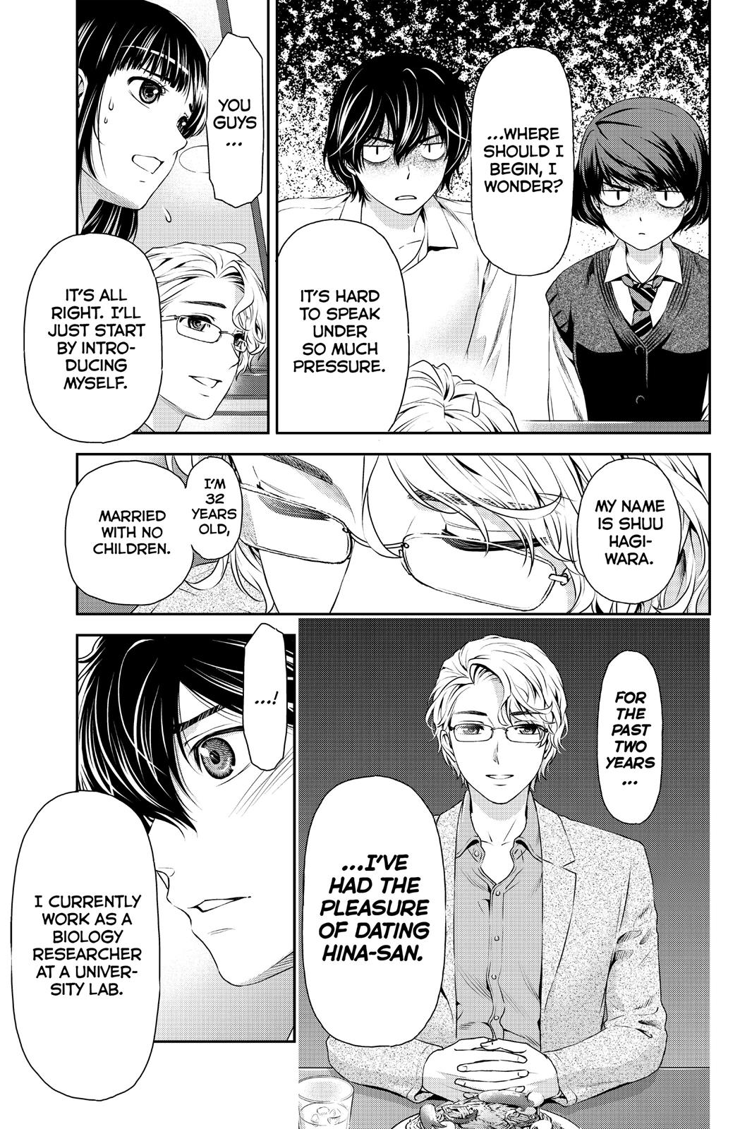 Domestic Na Kanojo, Chapter 9 image 009