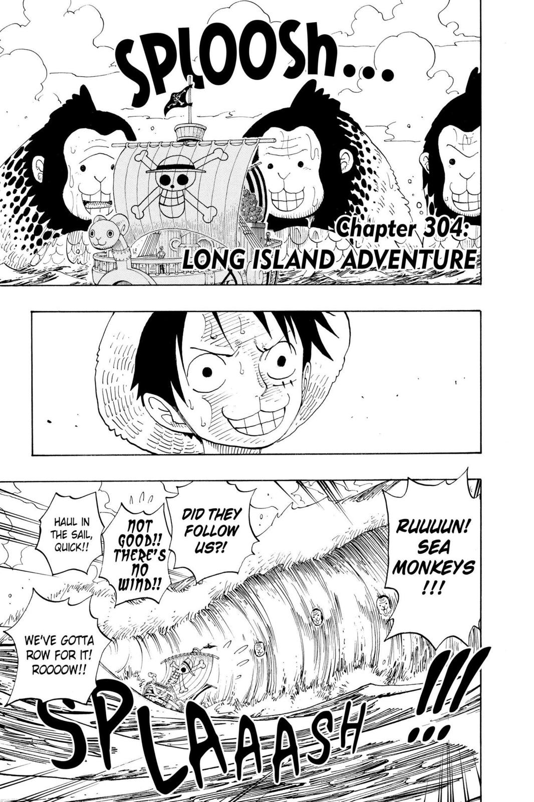 One Piece, Chapter 304 image 004
