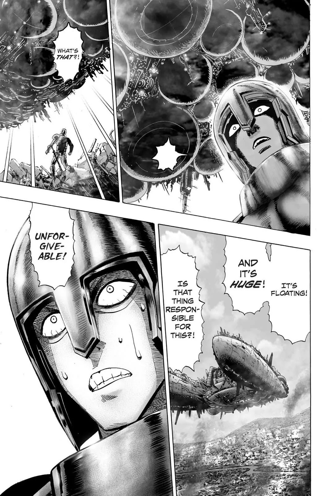 One Punch Man, Chapter Onepunch-Man 32 image 011