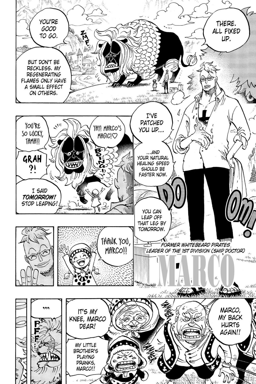 One Piece, Chapter 909 image 004