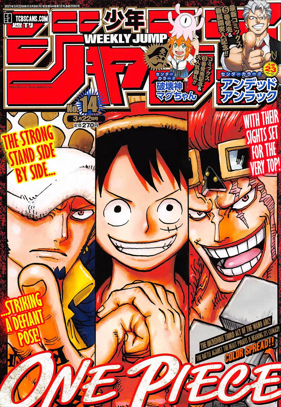 One Piece, Chapter 1006 image 001