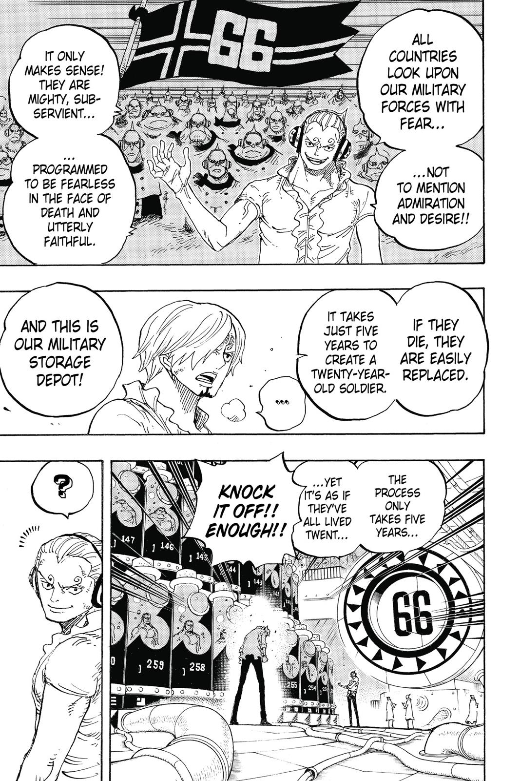 One Piece, Chapter 840 image 005