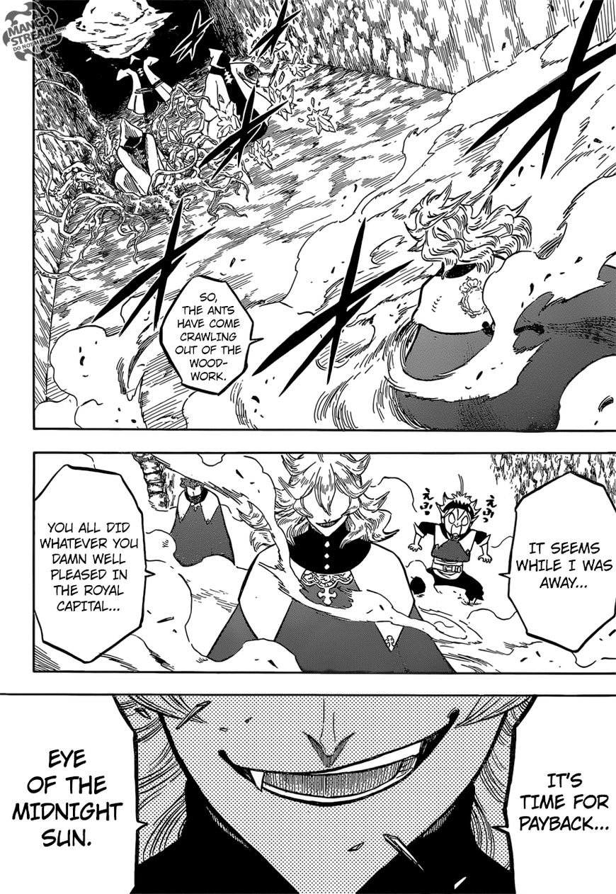 Black Clover, Chapter 135 Into the Eye of the Midnight Sun's Base!! image 012
