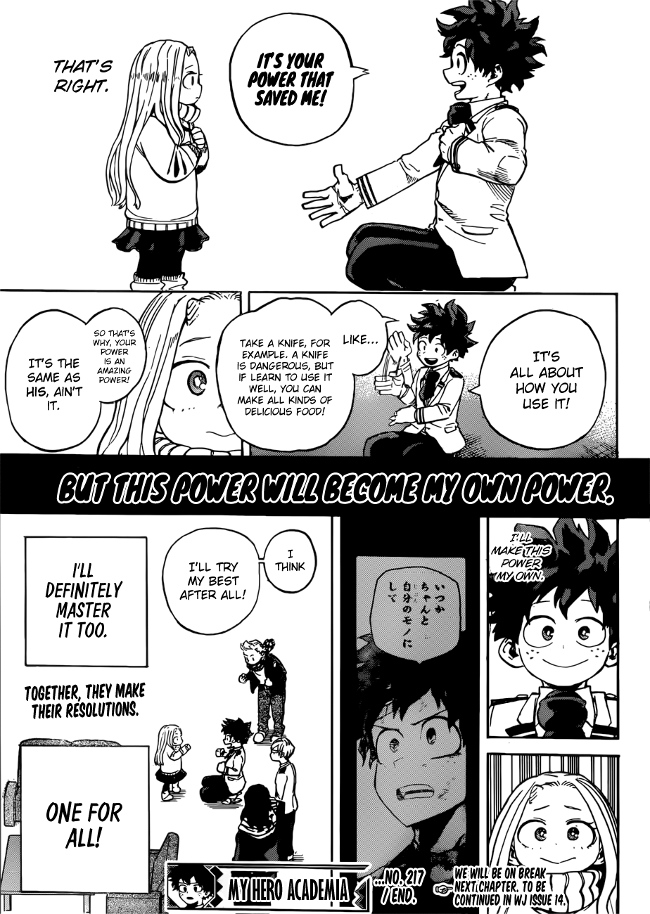 My Hero Academia, Chapter 217 image 014