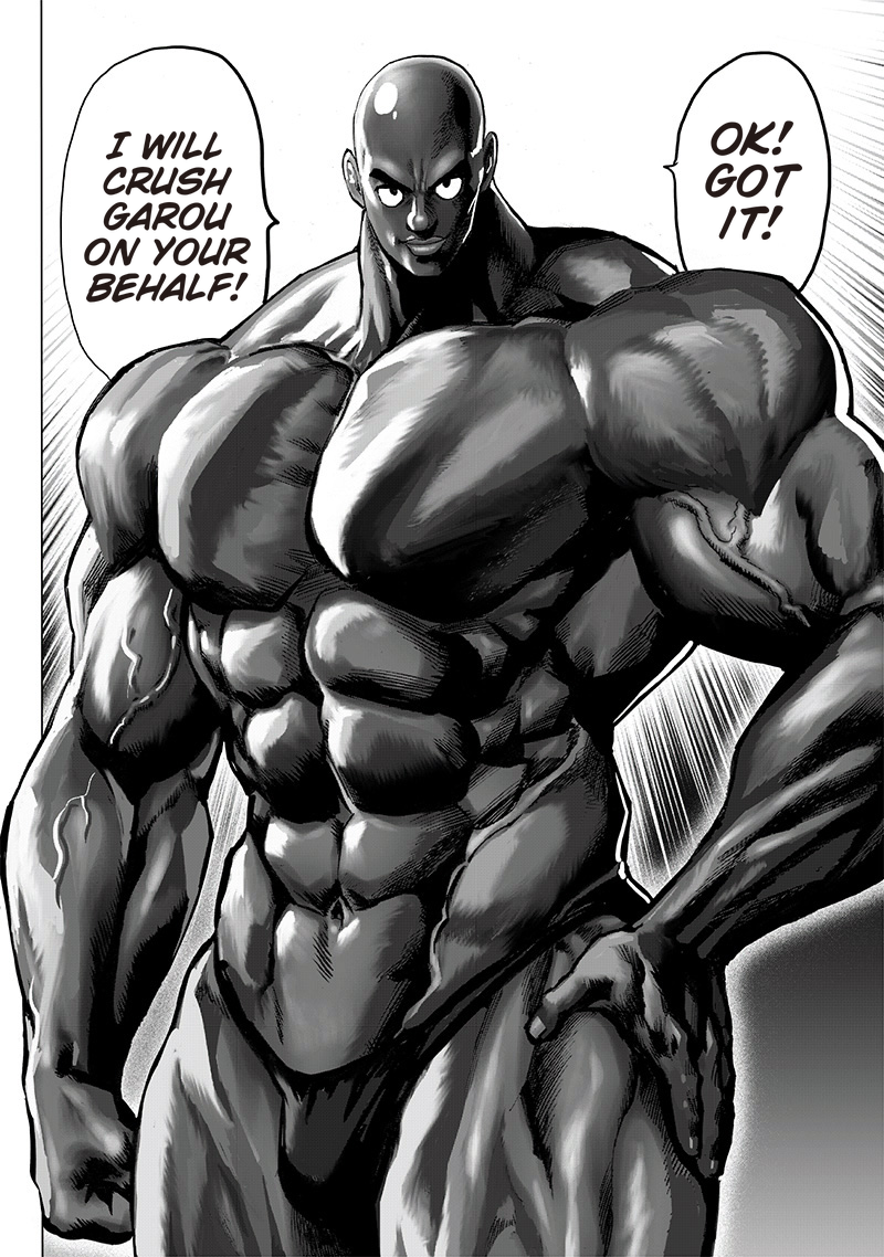 One Punch Man, Chapter One-Punch Man 121 image 008