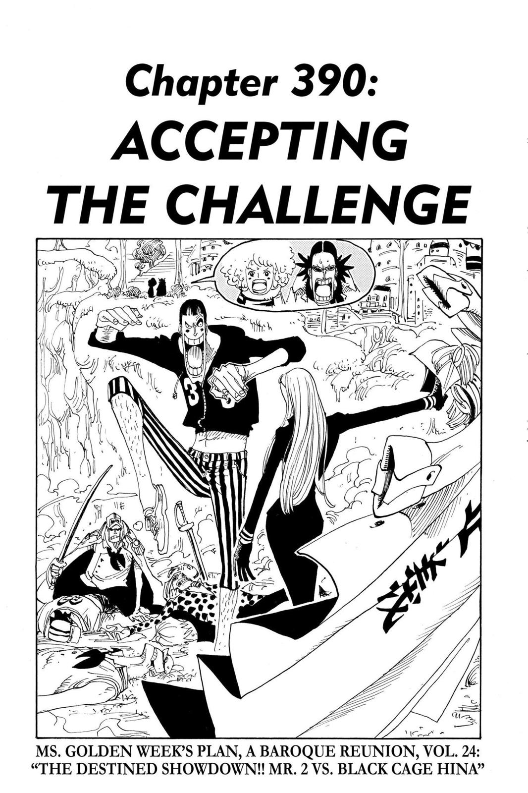 One Piece, Chapter 390 image 001