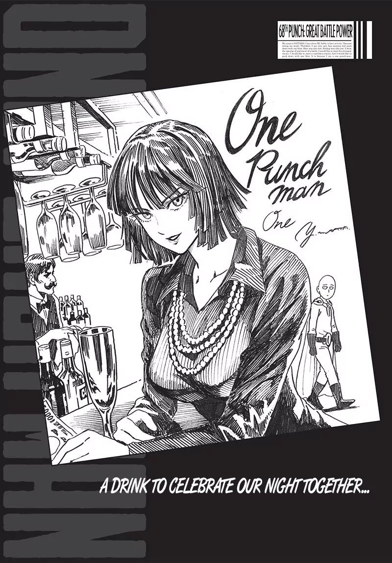 One Punch Man, Chapter Onepunch-Man 68.1 image 001