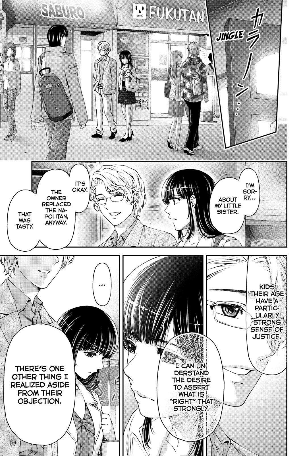 Domestic Na Kanojo, Chapter 9 image 025