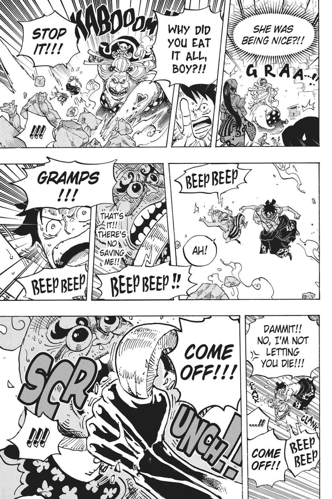 One Piece, Chapter 946 image 013