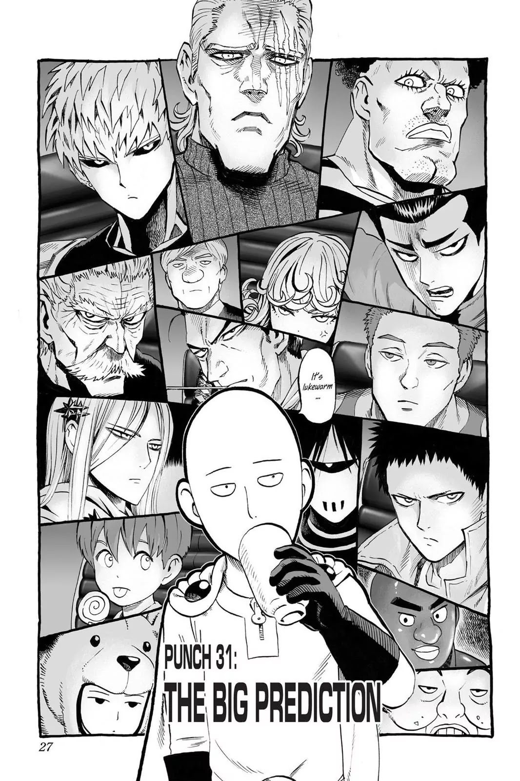 One Punch Man, Chapter Onepunch-Man 31 image 001