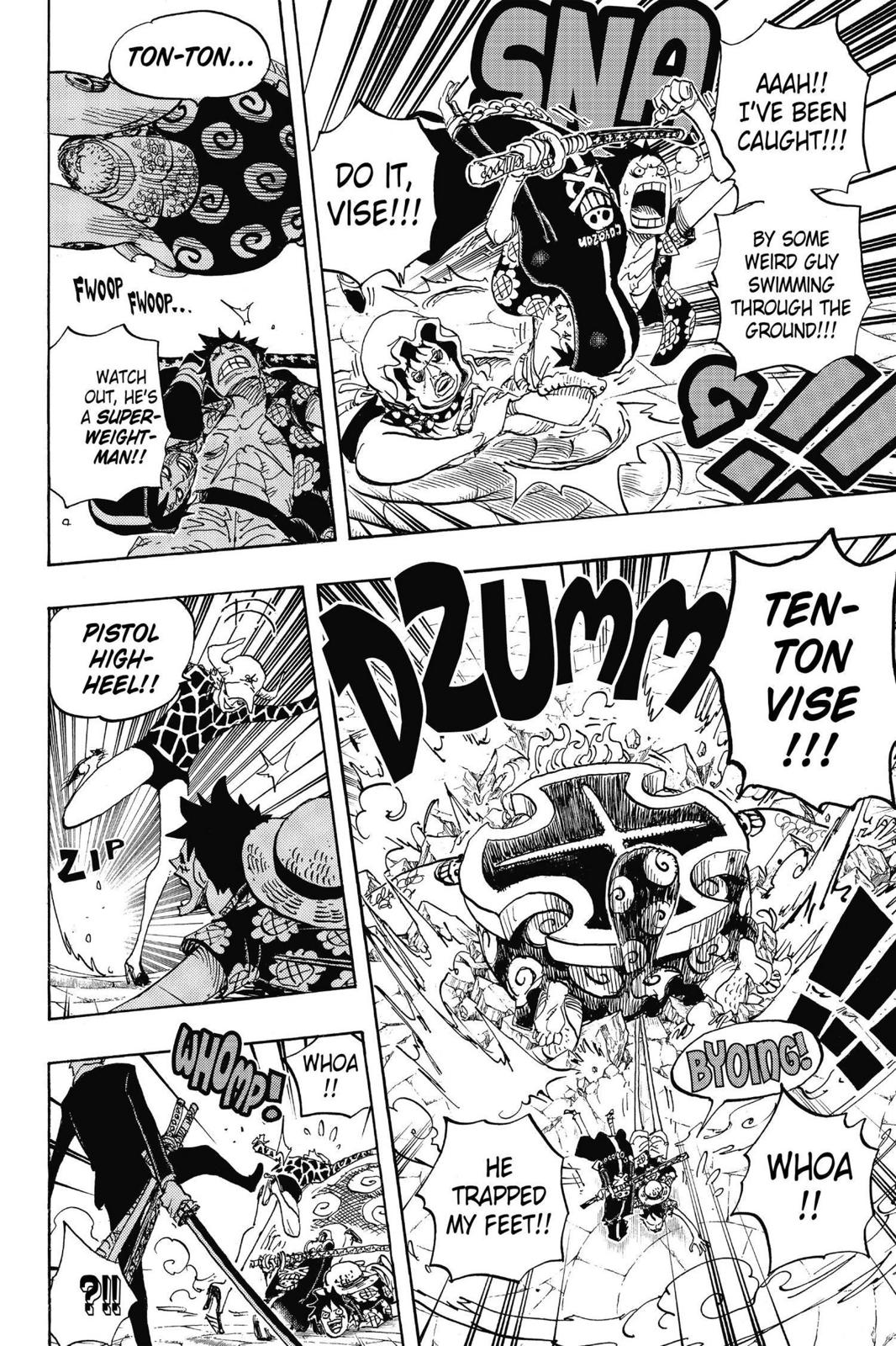 One Piece, Chapter 747 image 013
