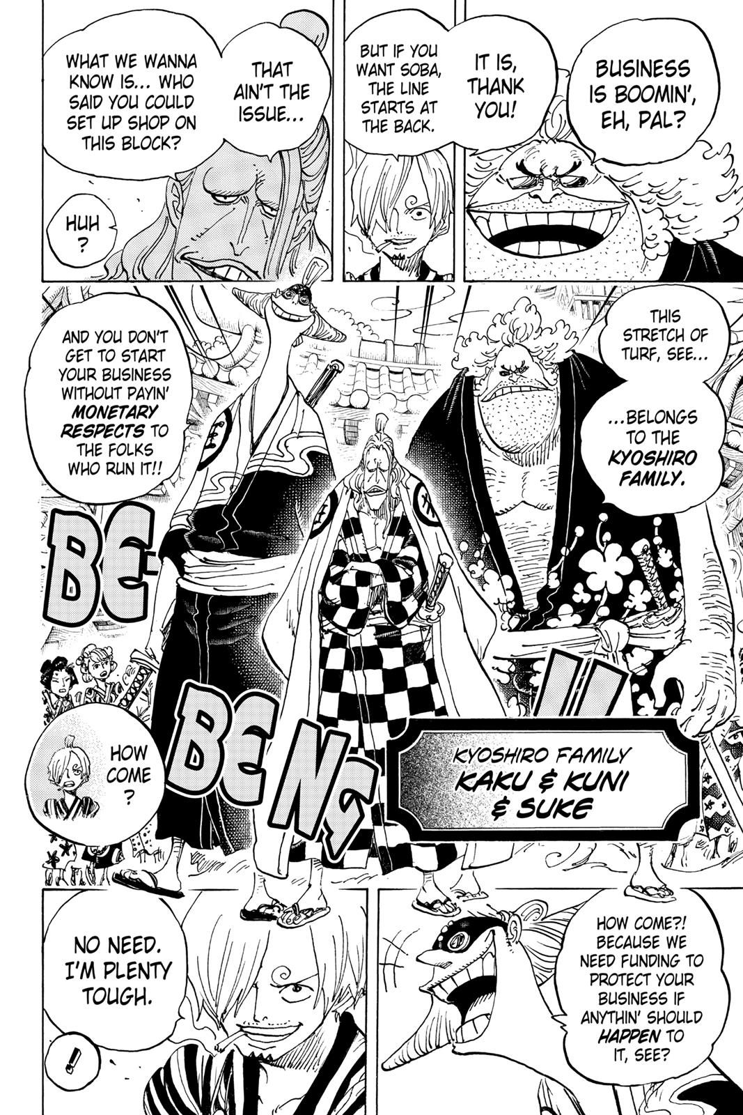 One Piece, Chapter 927 image 004