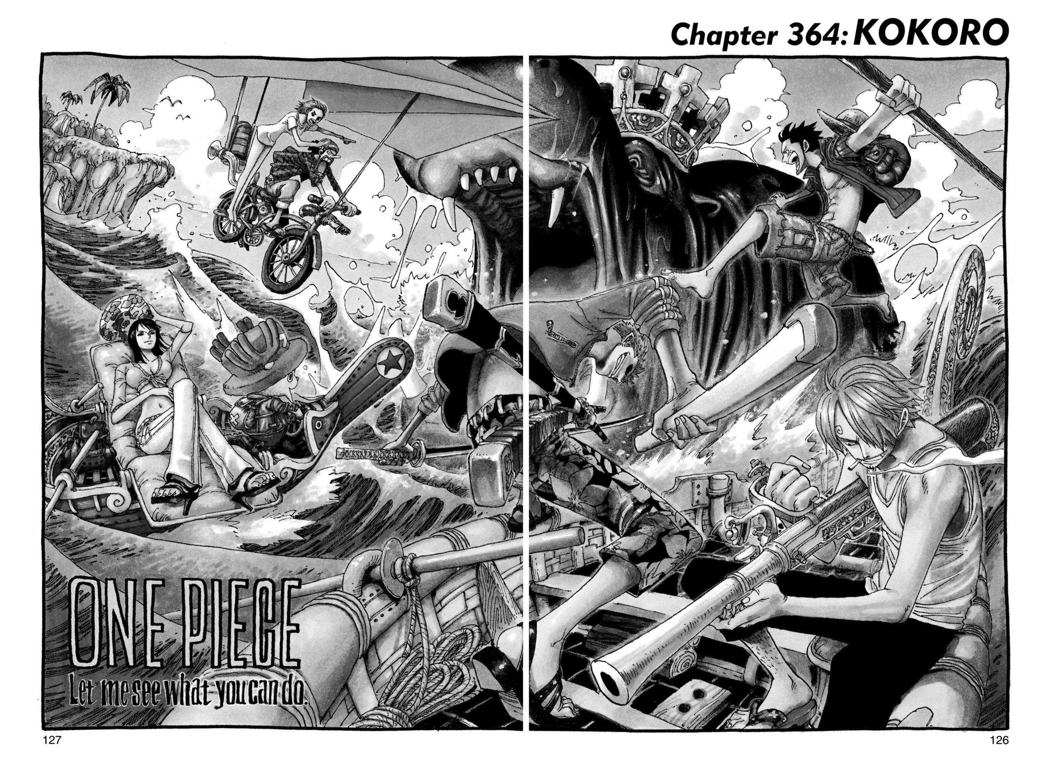 One Piece, Chapter 364 image 001