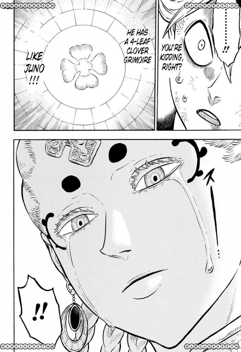 Black Clover, Chapter 46 The man who cuts death image 014