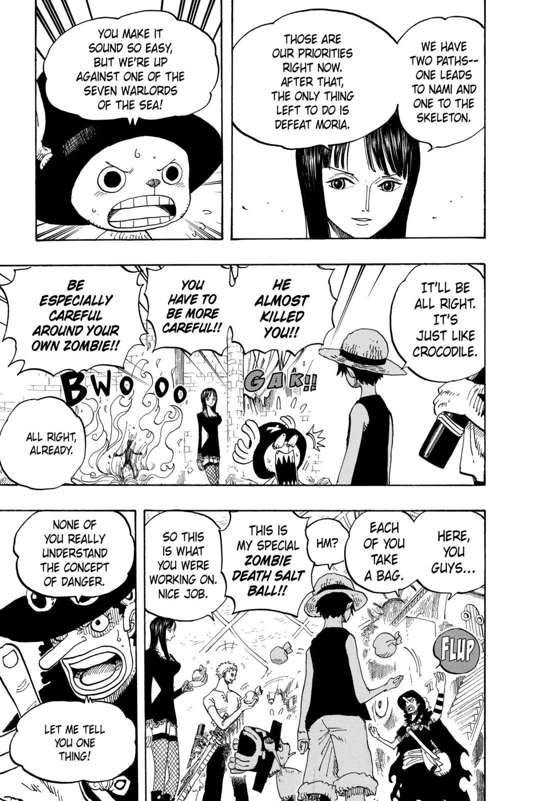 One Piece, Chapter 460 image 011