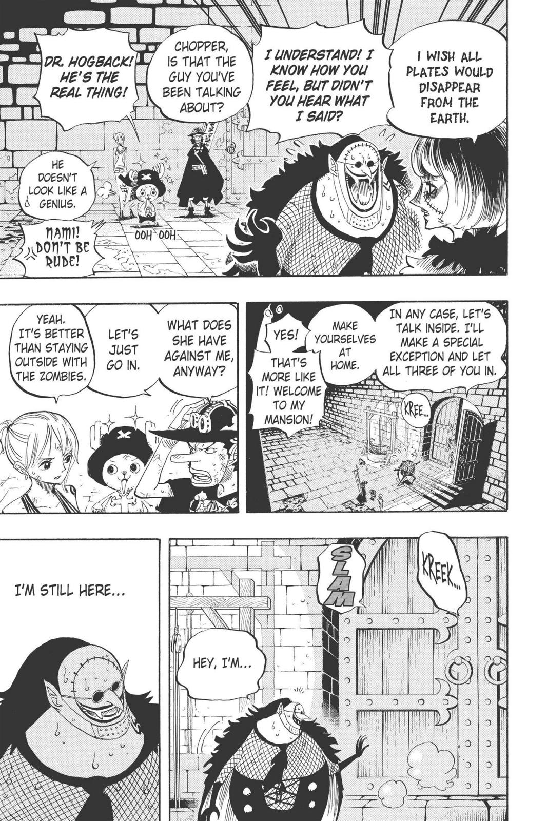 One Piece, Chapter 446 image 007