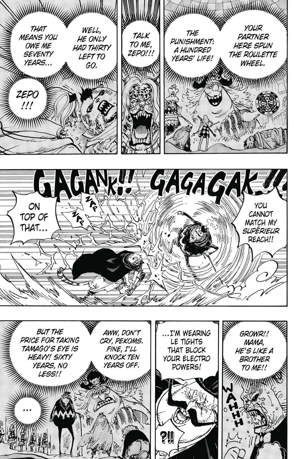 One Piece, Chapter 850 image 009