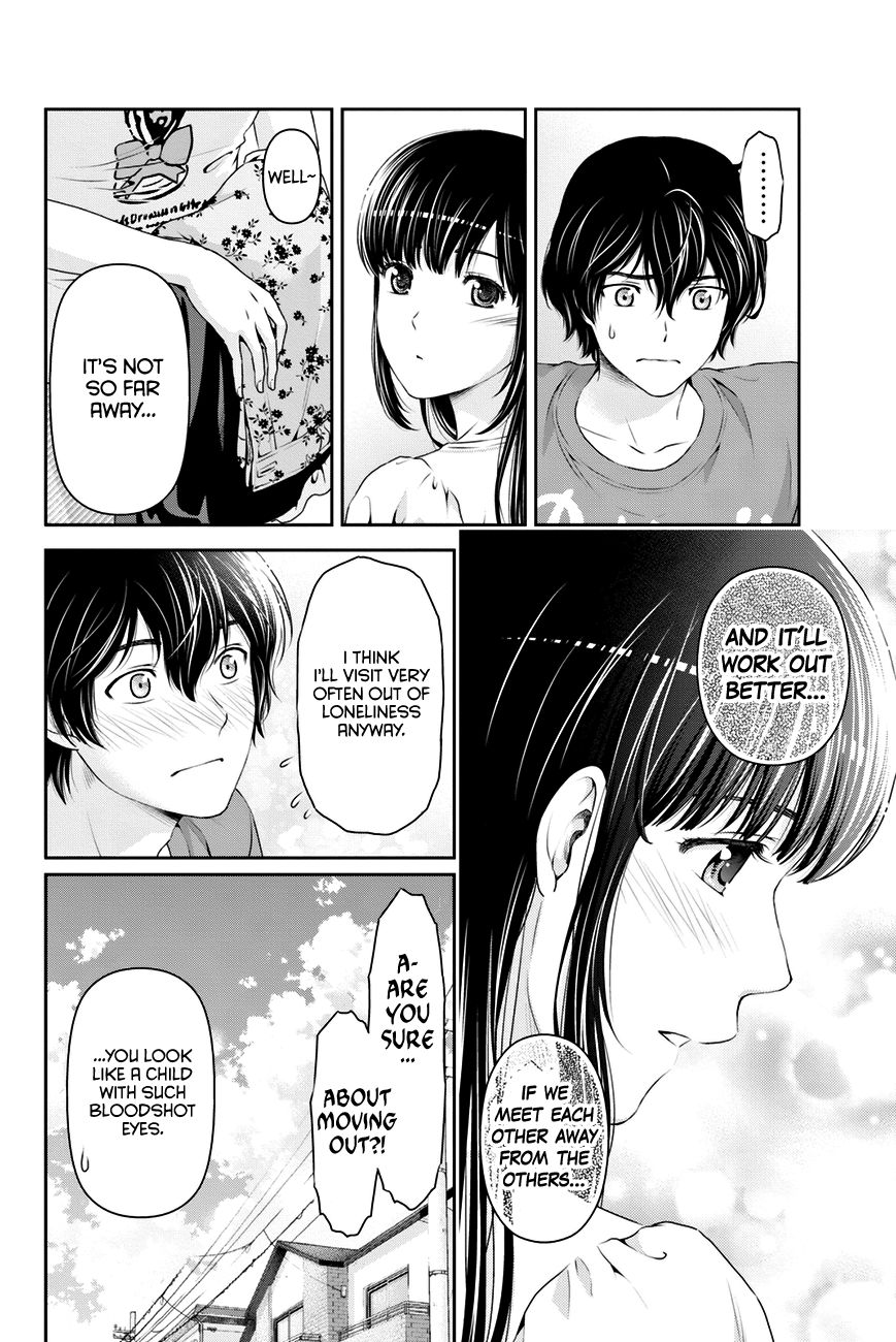 Domestic Girlfriend, Chapter 34 The Distance between The Two image 007