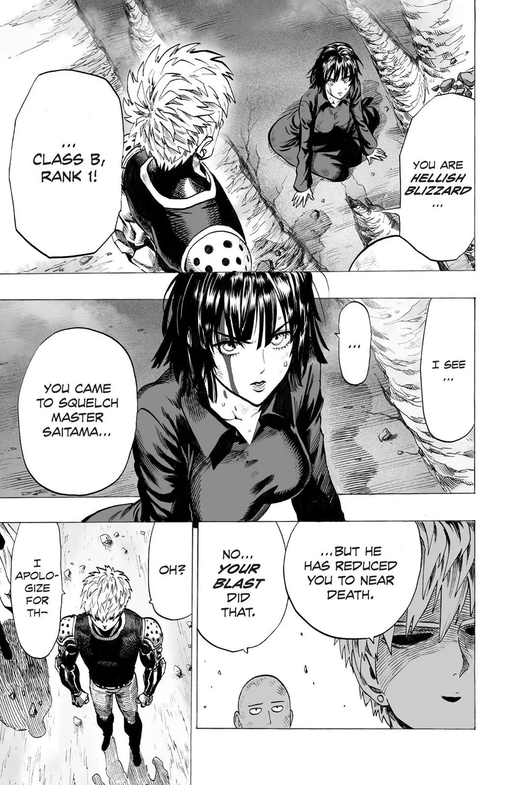 One Punch Man, Chapter Onepunch-Man 43 image 023
