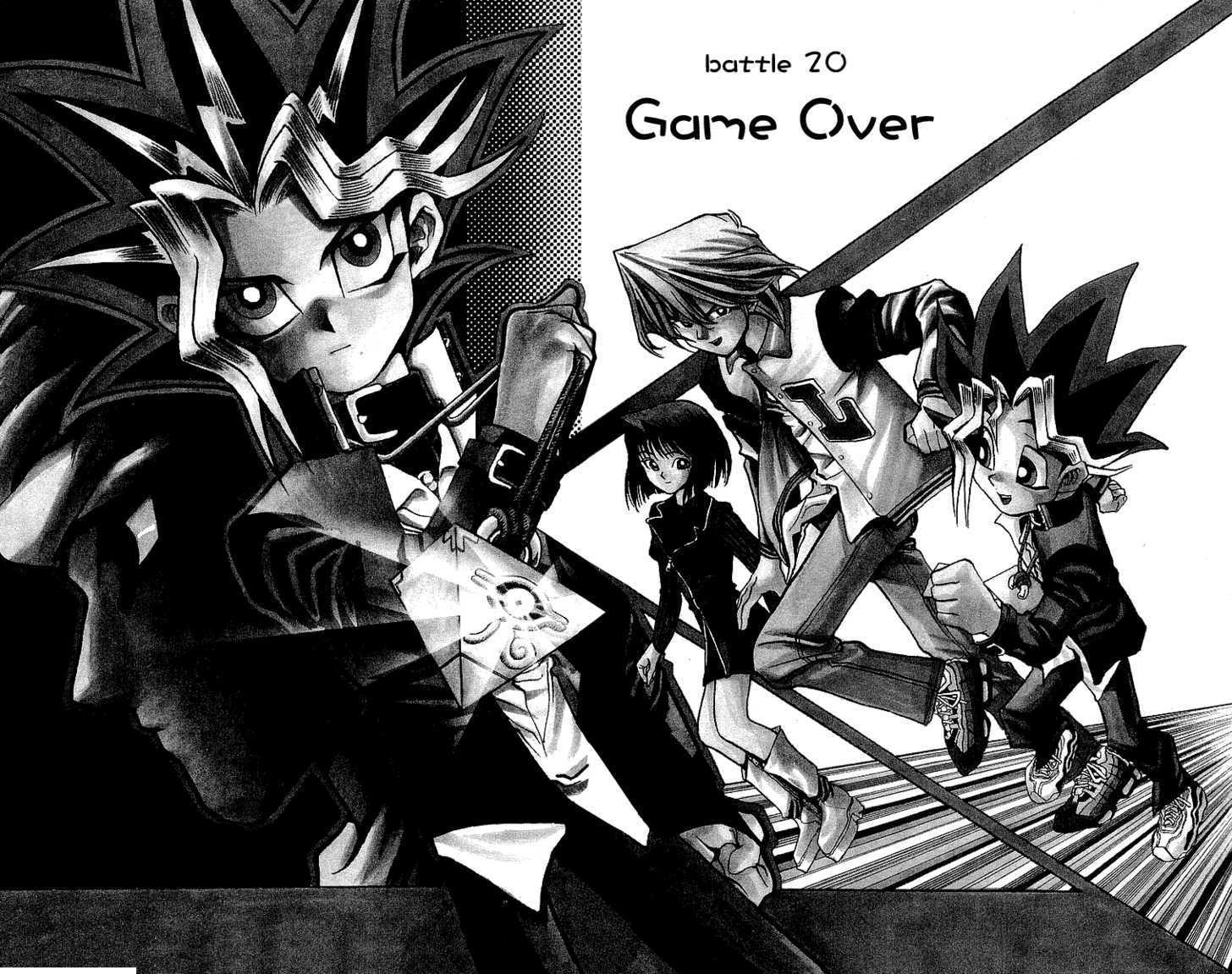 Yu Gi Oh, Chapter Vol.03 Ch.020 - Game Over image 002