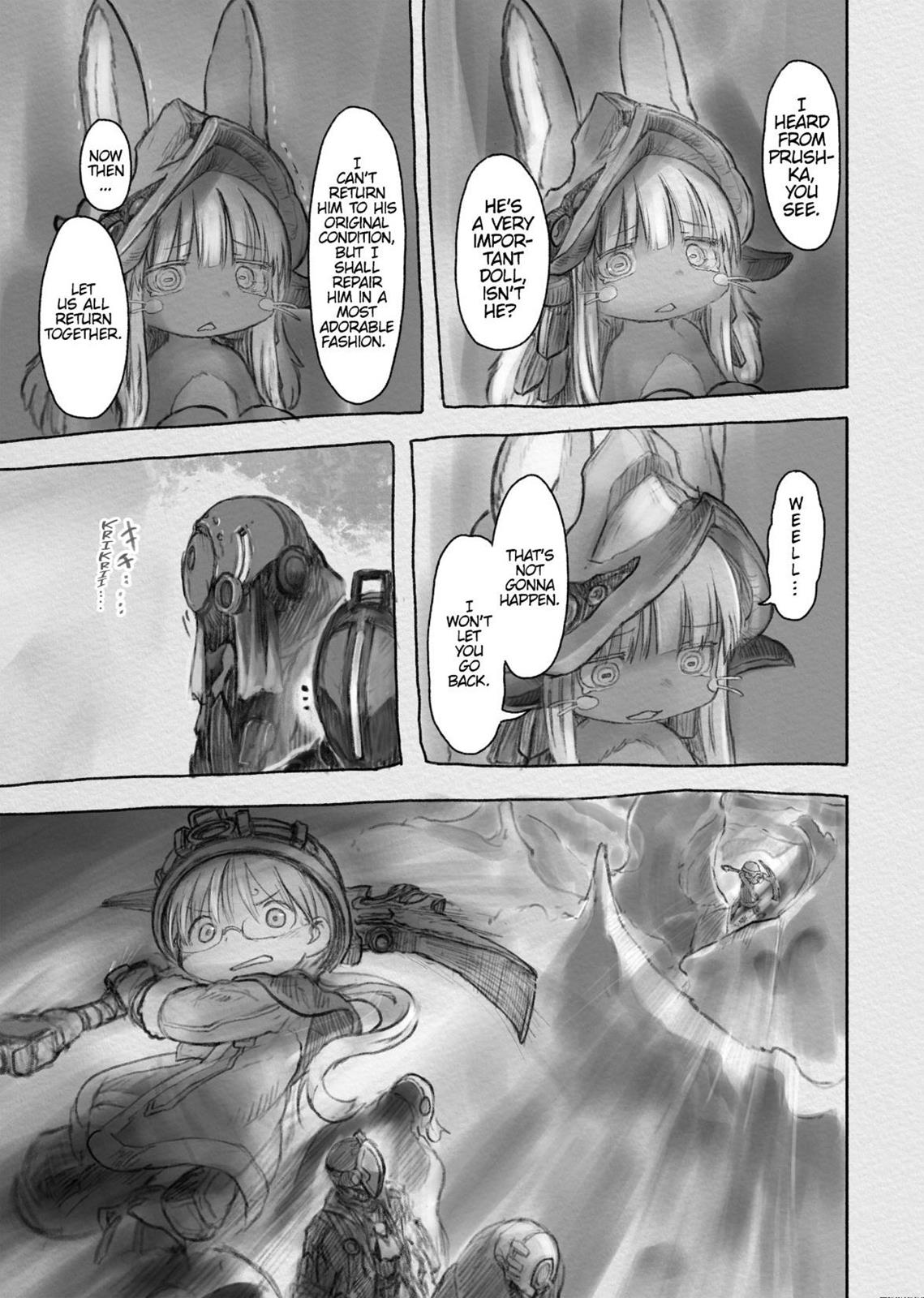 Made In Abyss, Chapter Hello,Abyss 31 image 015