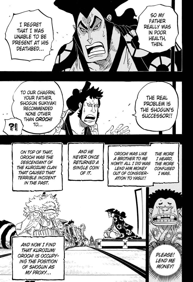 One Piece, Chapter 968 image 011