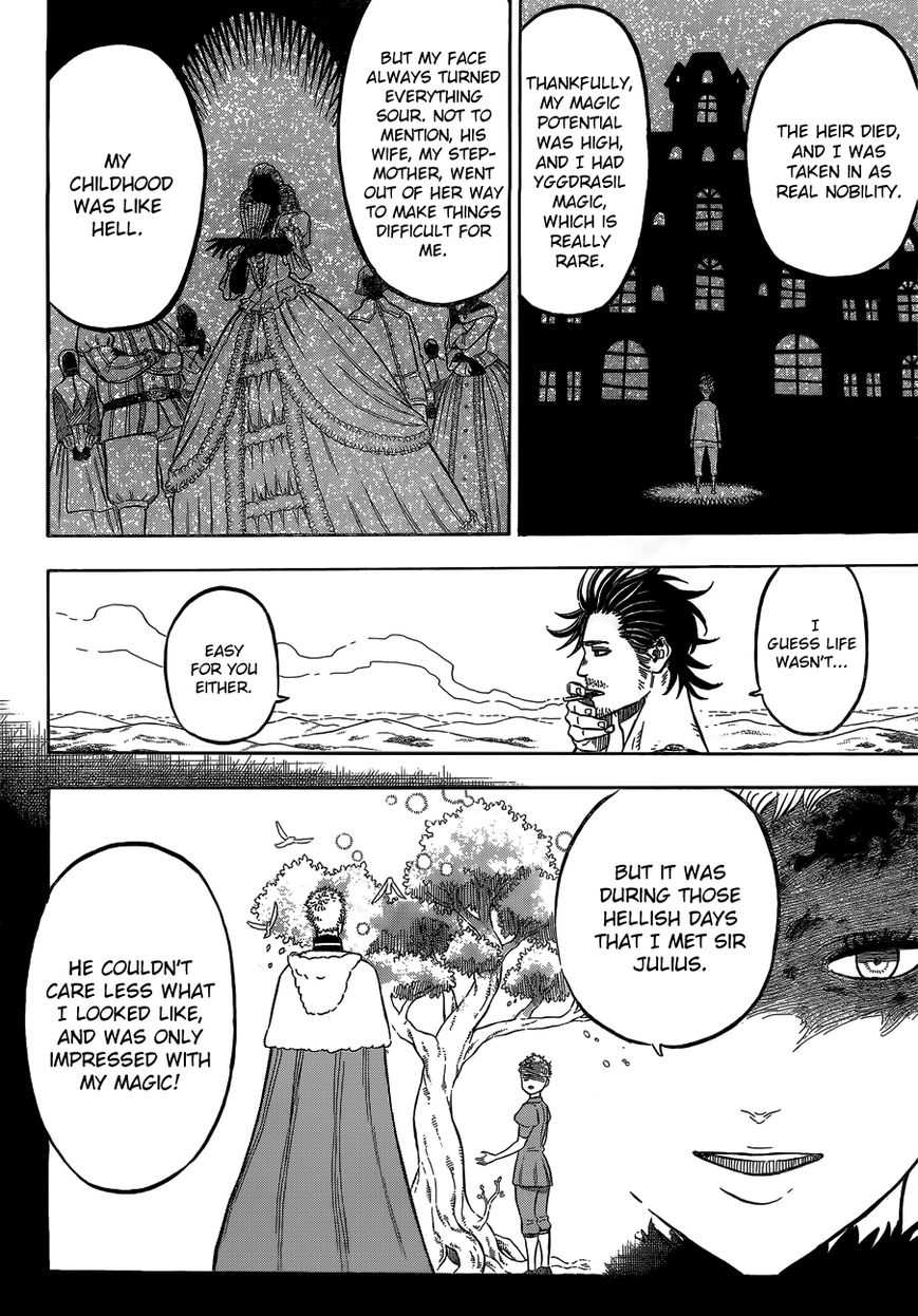 Black Clover, Chapter 79 The Depths of The Mask image 007