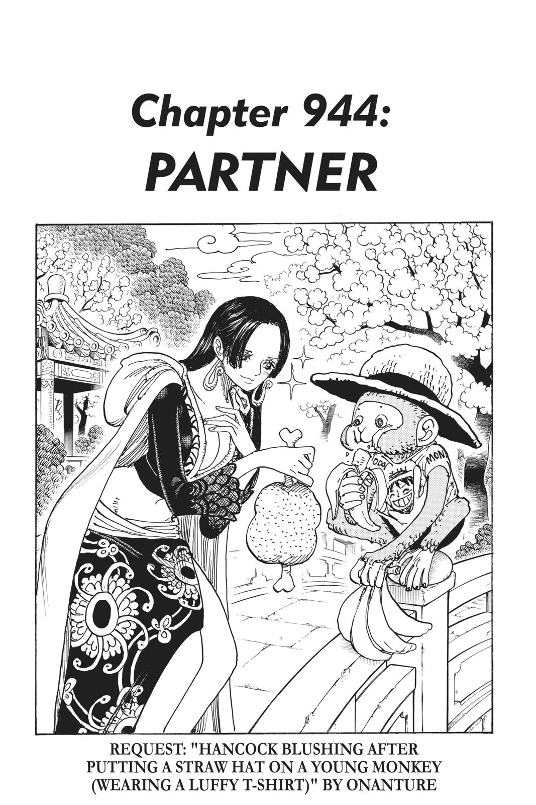 One Piece, Chapter 944 image 001