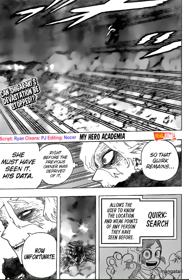 My Hero Academia, Chapter 275 image 001