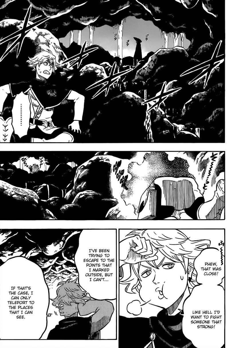 Black Clover, Chapter 61 Royal Rumble At The Water Temple image 006