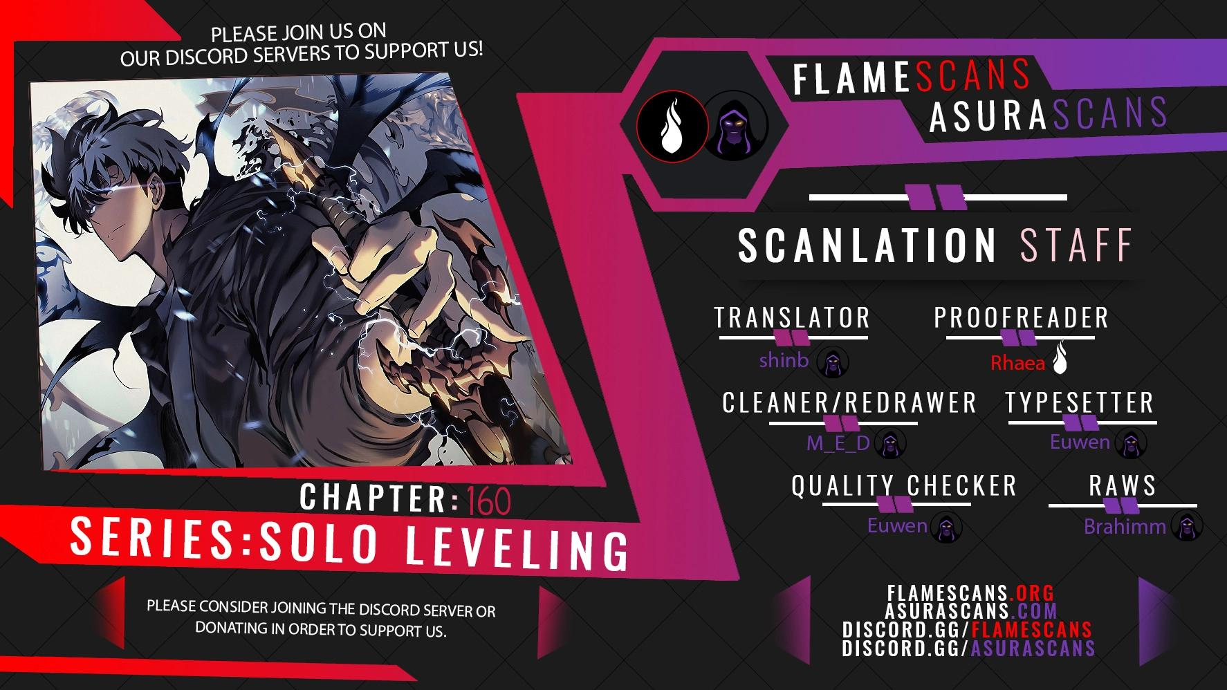 Solo Leveling, Chapter 160 image 001