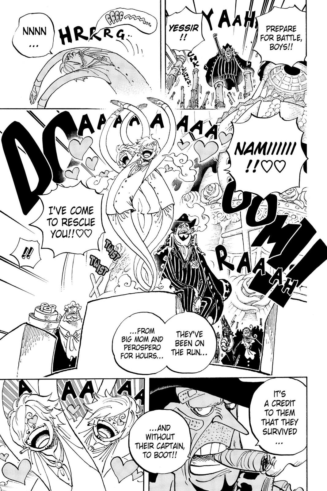 One Piece, Chapter 892 image 003