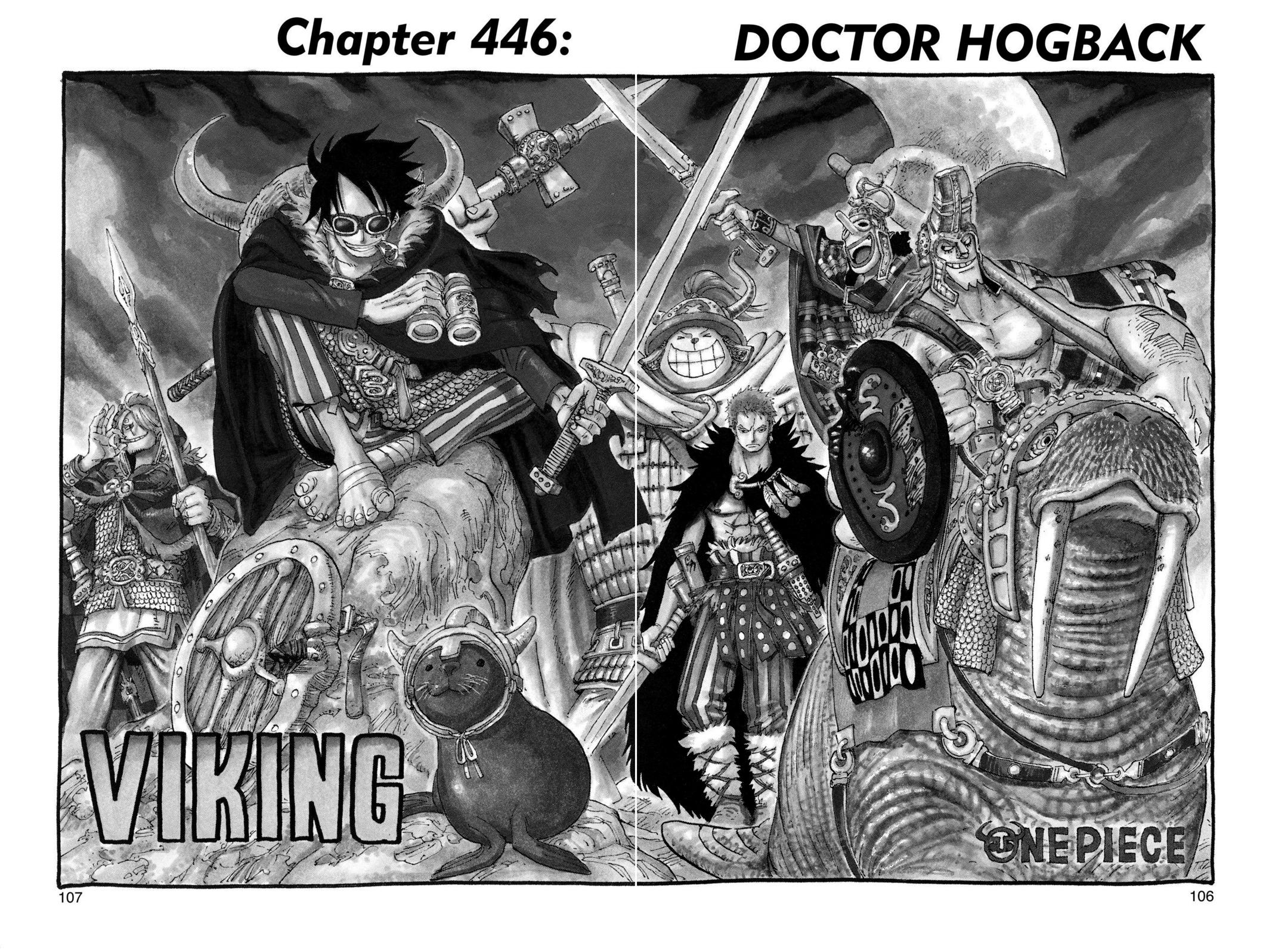 One Piece, Chapter 446 image 001