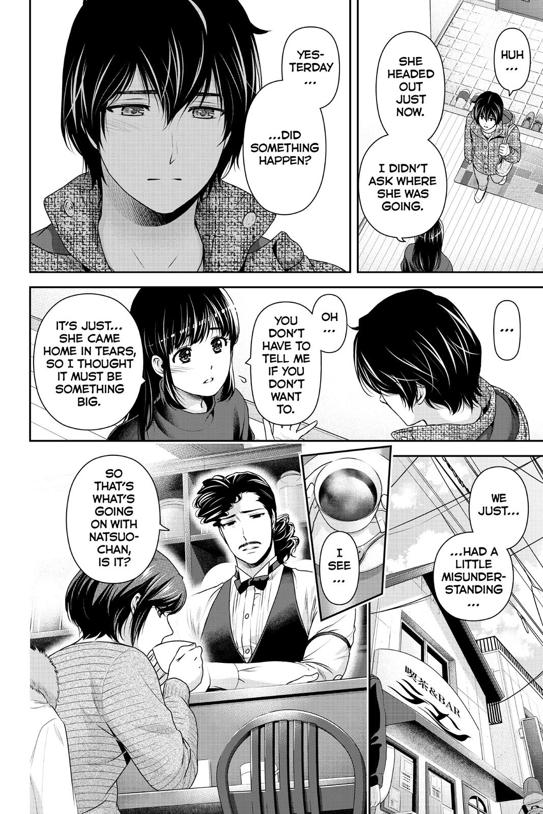 Domestic Na Kanojo, Chapter 215 image 002