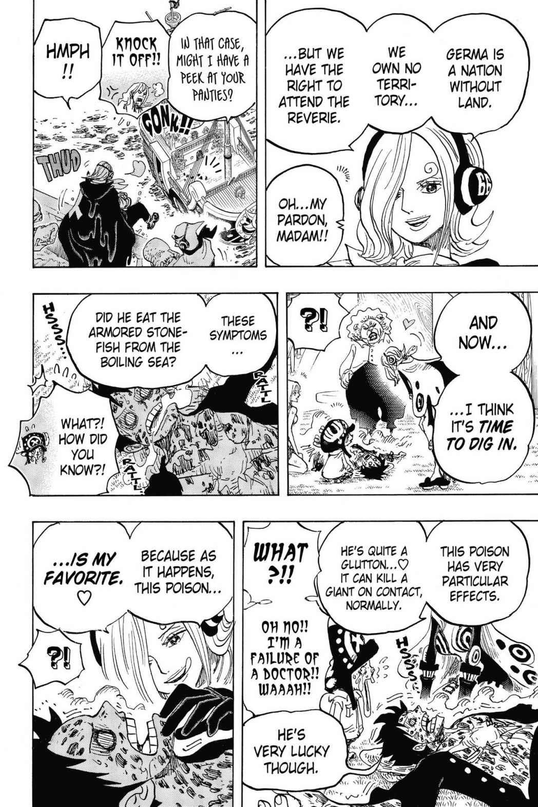One Piece, Chapter 826 image 010