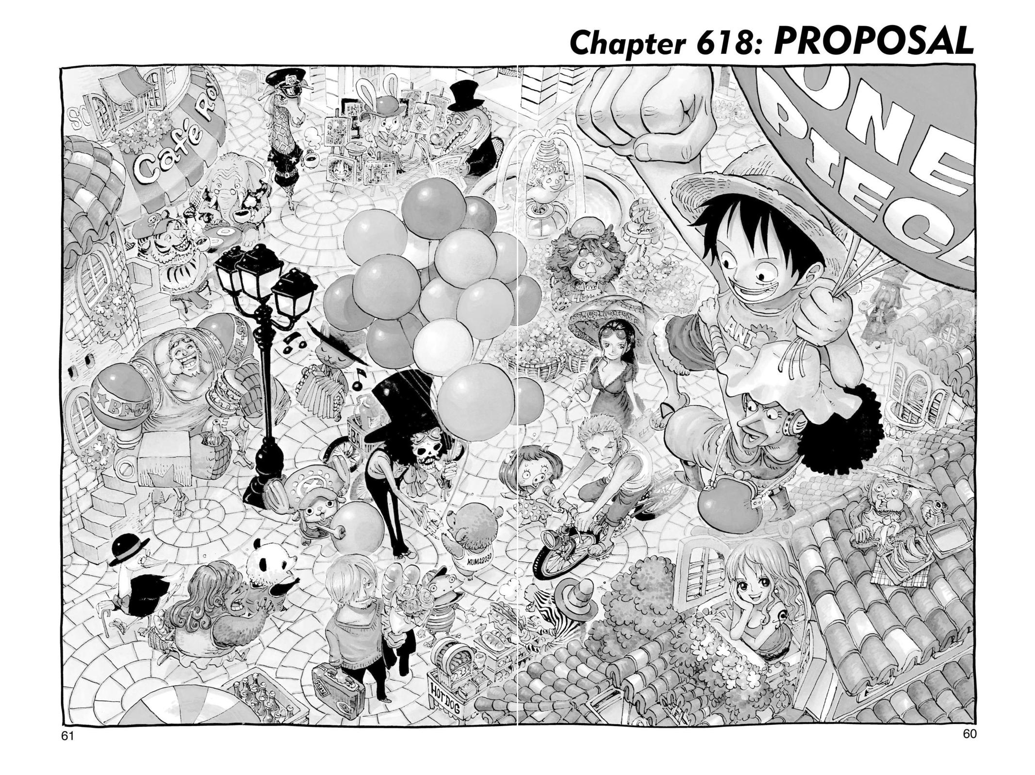 One Piece, Chapter 618 image 001