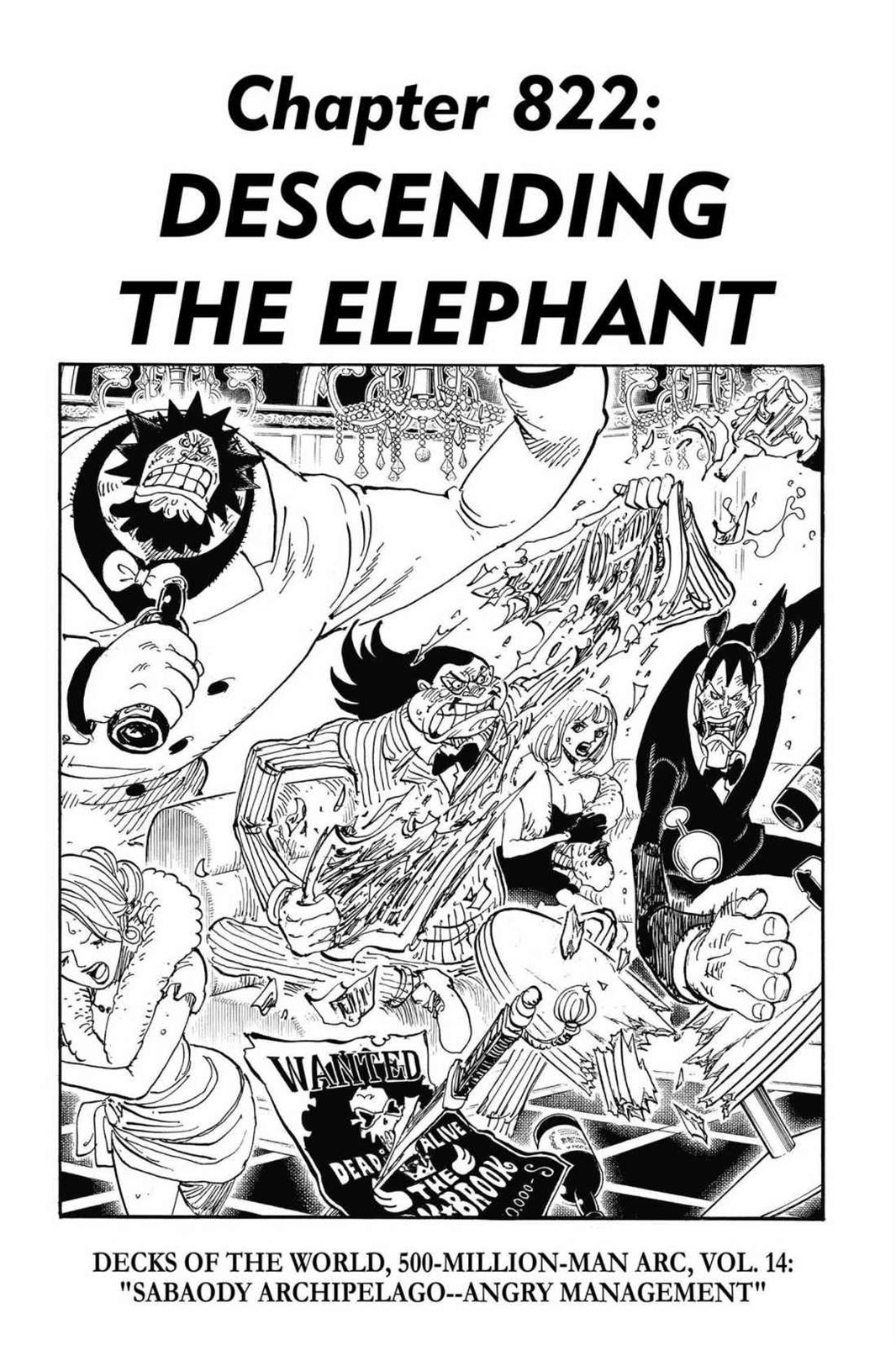 One Piece, Chapter 822 image 001