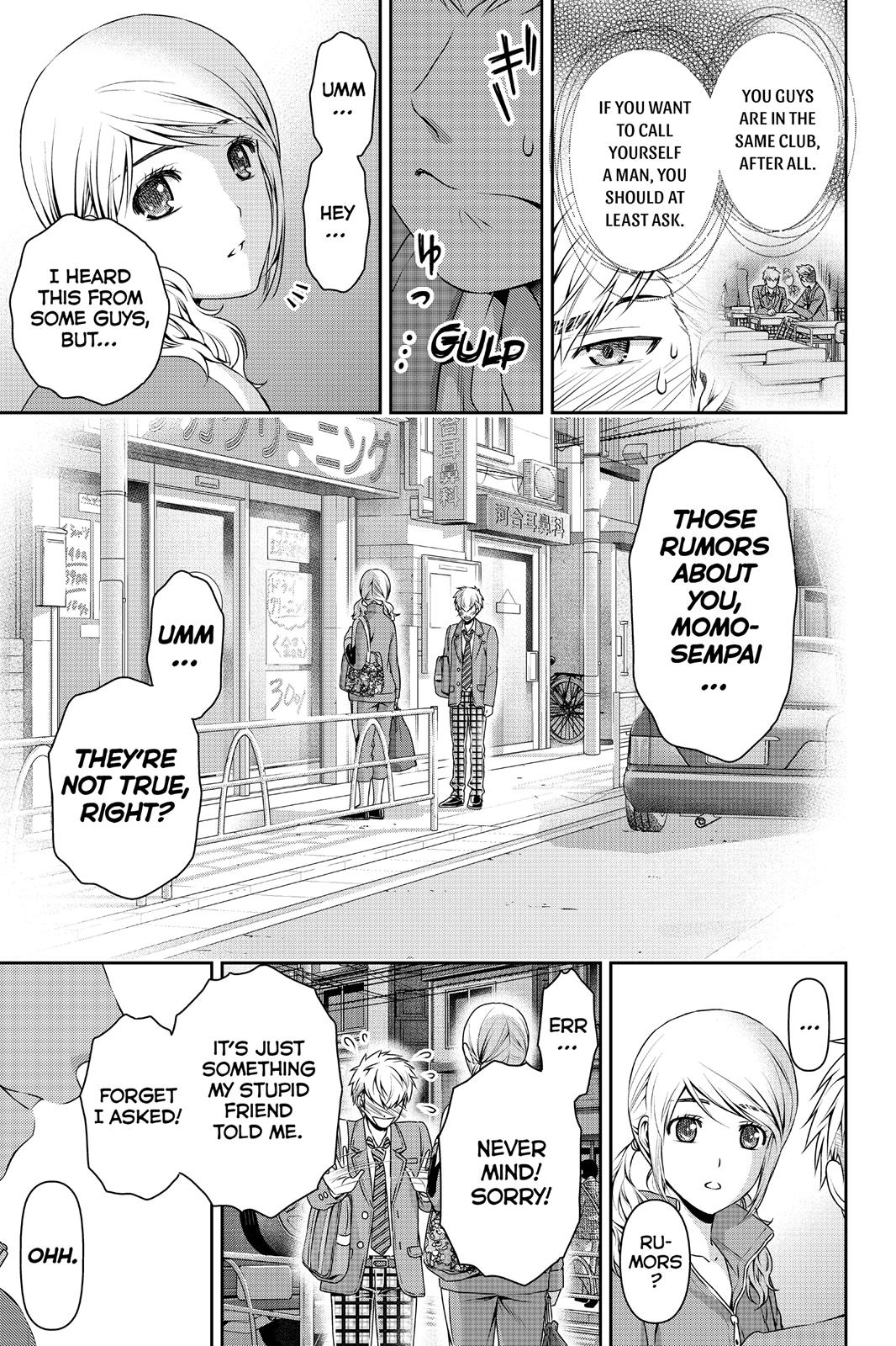 Domestic Na Kanojo, Chapter 80 image 015