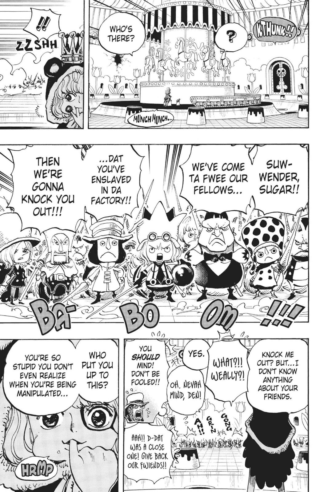 One Piece, Chapter 738 image 010